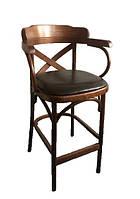Барное кресло с мягким сидением