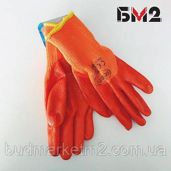 Перчатки махровые с силиконовым покрытием ТМ Seven