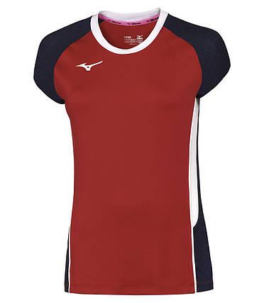 Футболка волейбольная Mizuno Premium High-Kyu Tee (W) V2EA7202-62, фото 2