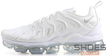 2b0d0450 Женские кроссовки Nike Air Vapormax Plus (White/White - Pure Platinum), фото