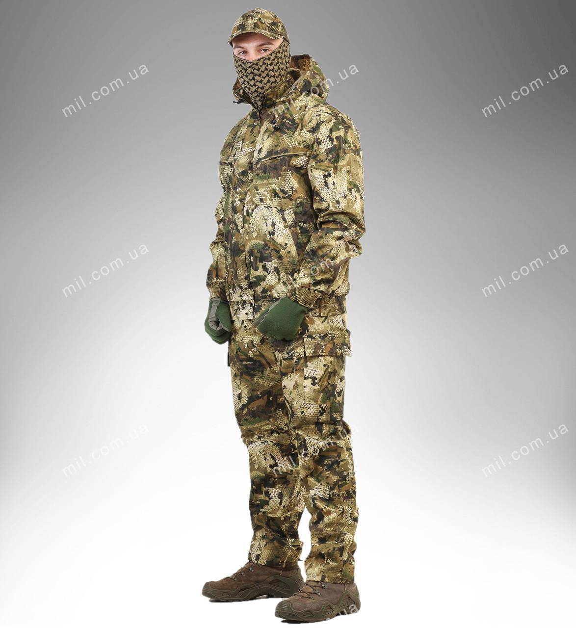 Летний камуфляжный костюм для охоты и рыбалки ''ЛЕШИЙ''