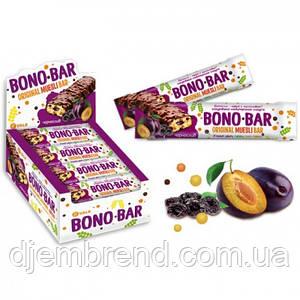 Батончик-мюсли с черносливом в глазури Bono-Bar, 40гр