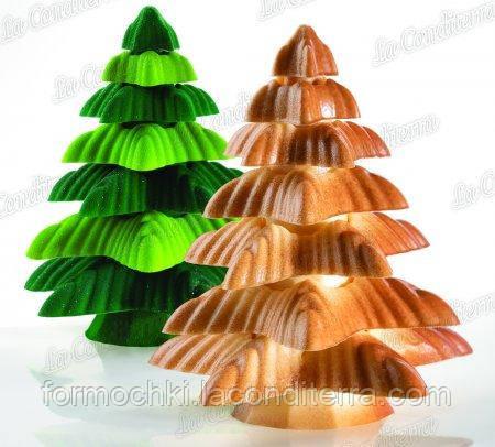 Полиэтиленовая форма для скульптур Рождественская елка - Fringe PAVONI KT177
