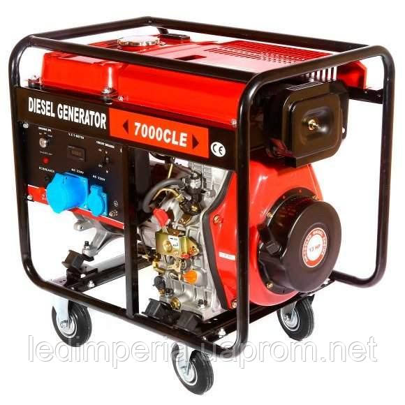 Дизельный генератор NiK DG 5500, цена, купить в Киеве — Prom