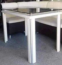 Стеклянный стол на кухню  ДКС Модерн Антоник, цвет на выбор, фото 3
