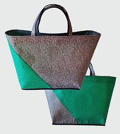 """Эко-сумка """"Кошик"""" из рельефного спанбонда"""