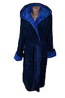 Шикарный мужской длинный махровый халат Sport,цвета в ассортименте (46-64)