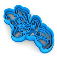 Вырубка для пряников Минни Маус-2 10*5,6 см (3D)