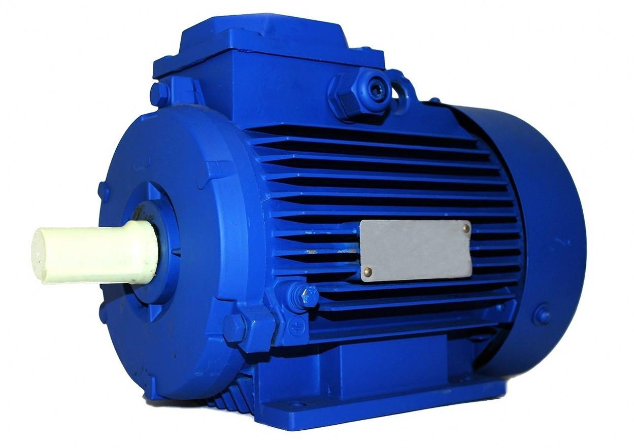Электрический мотор АИР63 В2 (0,55 кВт, 3000 об/мин)