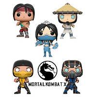 Коллекционные фигурки Фанко Поп Funko Pop Мортал Комбат Mortal Kombat