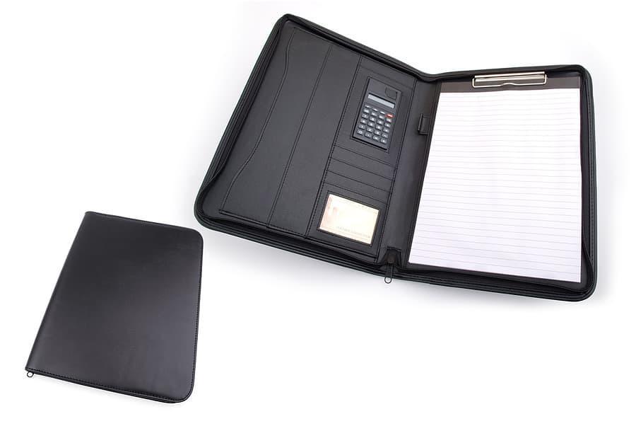 Папка для документов формата A4 Stefania коричневая (234OKA)