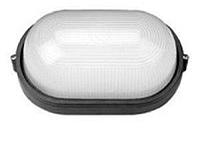 Светильник ЖКХ герметичный ip54 под лампу (Е27),овал, накладной Lemanso