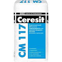 Клей для плитки и камня Ceresit CM 117, 25 кг