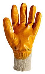 Перчатки рабочие с нитриловым покрытием Польша REKNITR5/8209