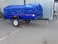 Прицеп бортовой легковой 2600*1300 от завода, фото 1