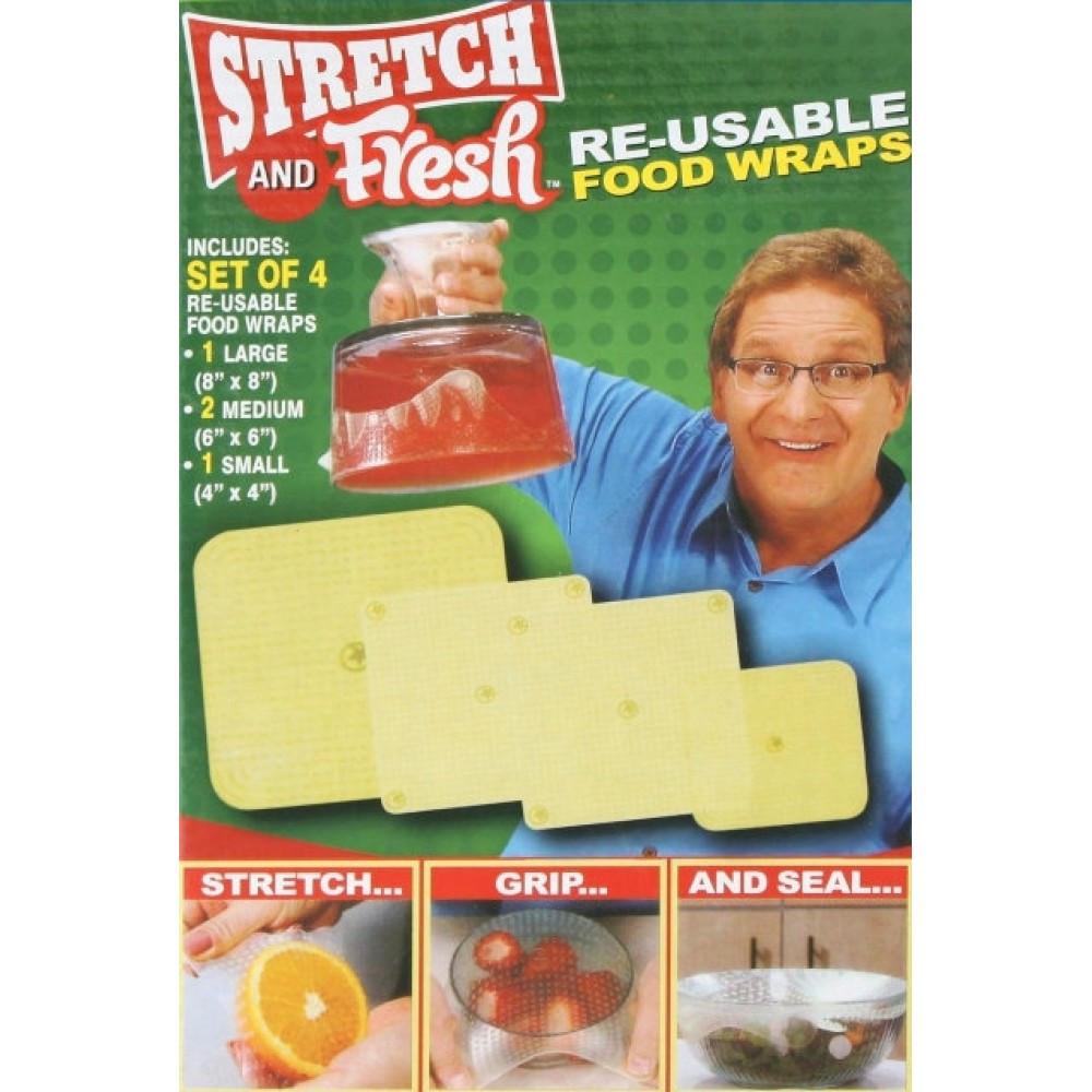 Набір харчових плівок для зберігання продуктів Stretch and Fresh