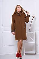 Пальто 515 (светло-коричневый)