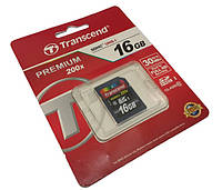 Карта памяти SDHC 16GB (Class 10) Transcend