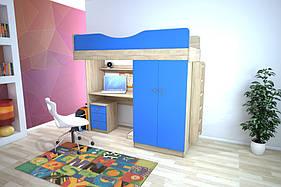 Меблевий комплект з прямим шафою, Дитячі меблі, дитячий шафа