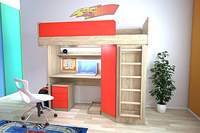 Меблевий комплект з кутовим шафою, Дитячі меблі