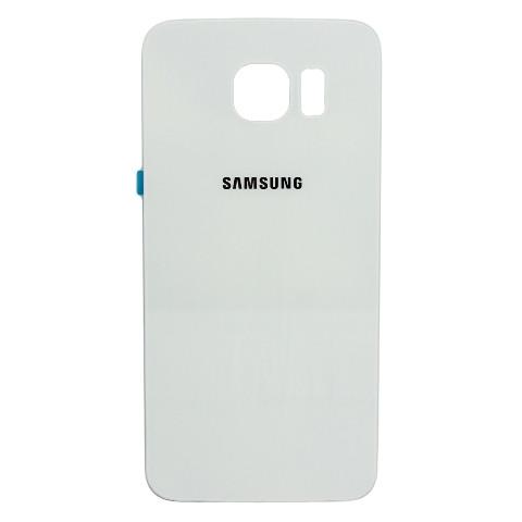 Задня панель корпусу для смартфону Samsung G928F Galaxy S6 EDGE Plus, 2.5D, Original, біла