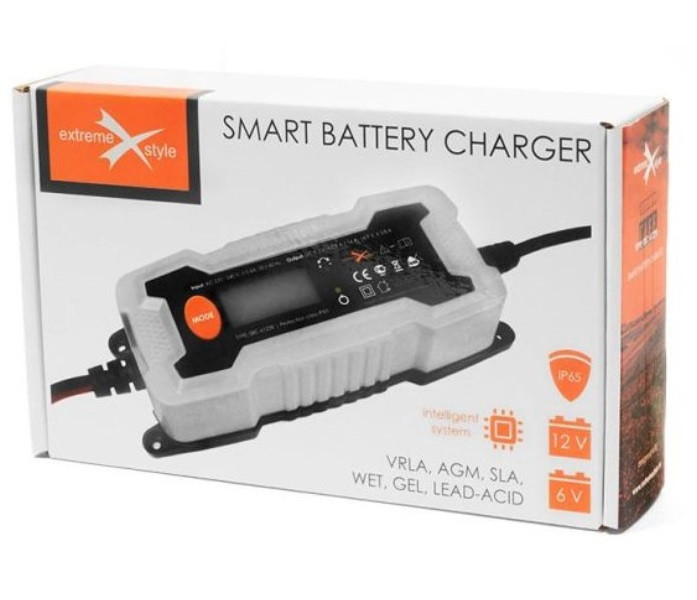 Зарядное устройство для аккумулятора авто ,мото EXTREME
