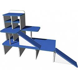 """Ігрова стінка 06 """"Паркінг"""". Меблі для школи. Меблі для дитячого садка"""