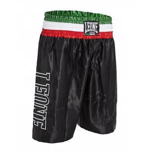 Шорты боксерские Leone Italy Black M, фото 2