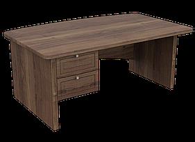 Стол руководителя с тумбой, офисная мебель