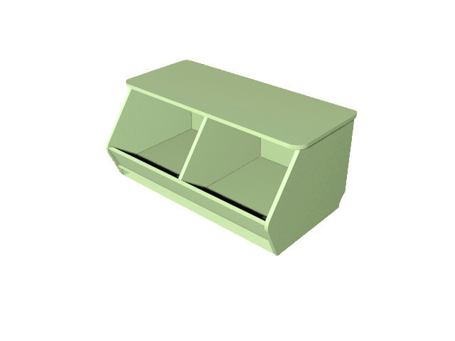 Ящик для іграшок. Меблі для школи. Меблі для дитячого садка