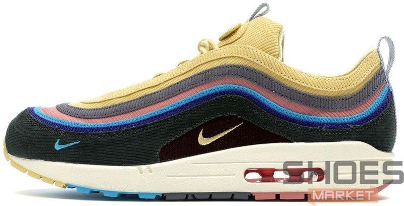Мужские кроссовки Nike Air Max 1/97 Sean Wotherspoon AJ4219-400, Найк Аир Макс 1 97