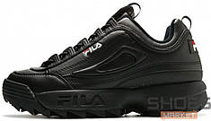Мужские кроссовки Fila Disruptor II All Black