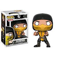 Фигурка Funko Pop Скорпион Scorpion Mortal Komba Фанко Поп Мортал Комбат Скорпион BL250