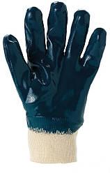Перчатки с нитриловым покрытием трикотажные рабочие Польша REKNITR4-8210