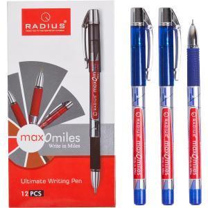 Ручка «Max-O-Miles» RADIUS принт 12 штук, синяя 1 упаковка (12 штук)                779290с