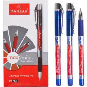 Ручка «Max-O-Miles» RADIUS принт 12 штук, синяя 1 упаковка (12 штук)                779290с, фото 2