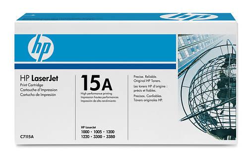 Заправка картриджа C7115A
