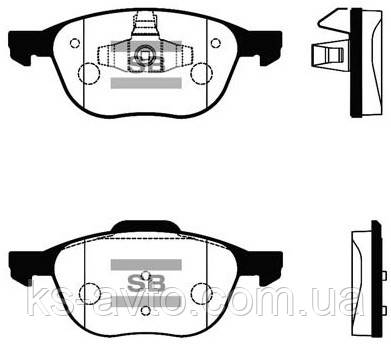 Тормозные колодки HI-Q  SP 1260