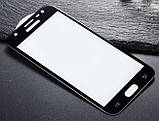 Full Glue защитное стекло для Samsung Galaxy J3 2017 ( SM-J330 ) - Black, фото 2
