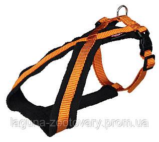 TX-20369 Шлея - восьмерка Премиум для собак 30 - 40см/15мм, медно-оранжевый