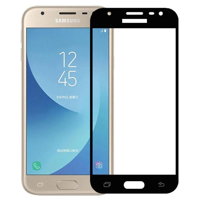 Full Glue защитное стекло для Samsung Galaxy J3 2017 ( SM-J330 ) - Black