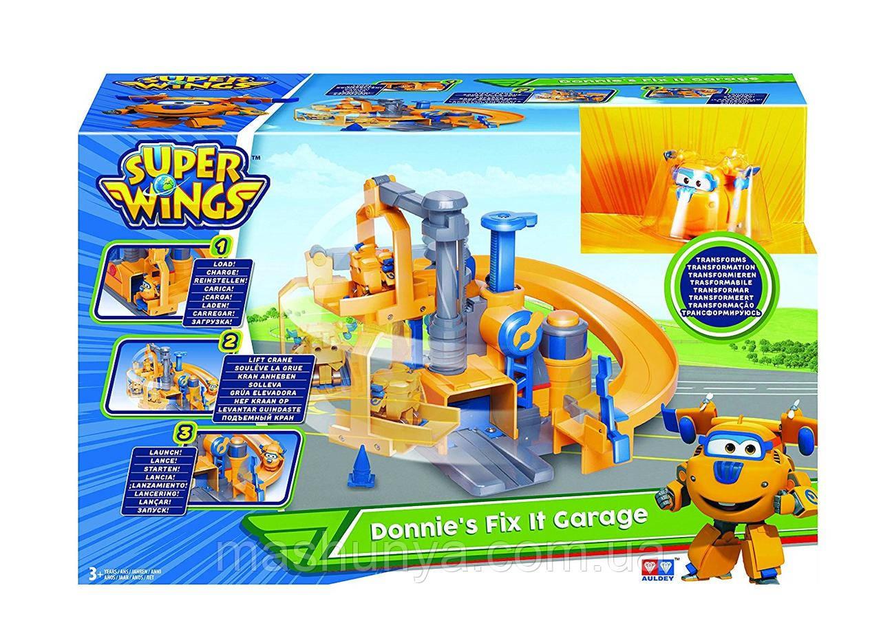 Игровой набор Super Wings Супер Крылья Станция Донни EU720813S
