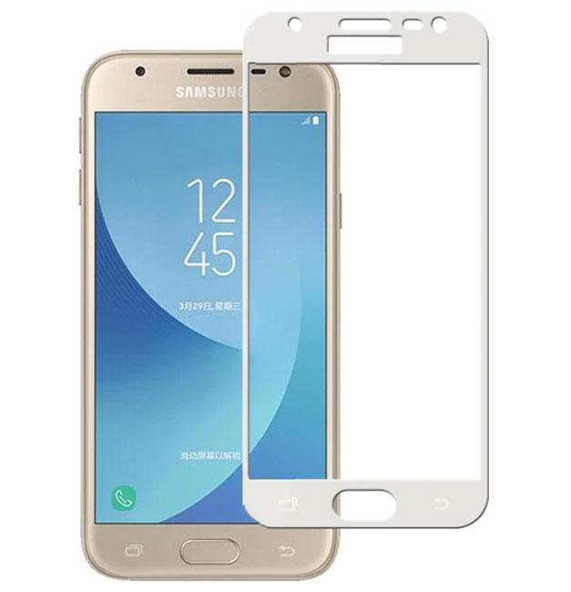 Full Glue защитное стекло для Samsung Galaxy J3 2017 ( SM-J330 ) - White