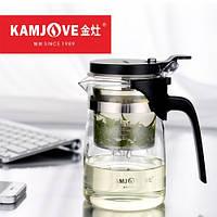 Чайник заварочный с кнопкой Kamjove K-201, 500 мл