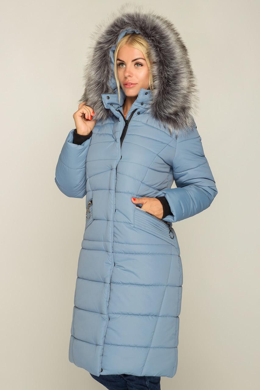 Зимнее Теплое длинное пальто пуховик размеры 44 до 58 с капюшоном