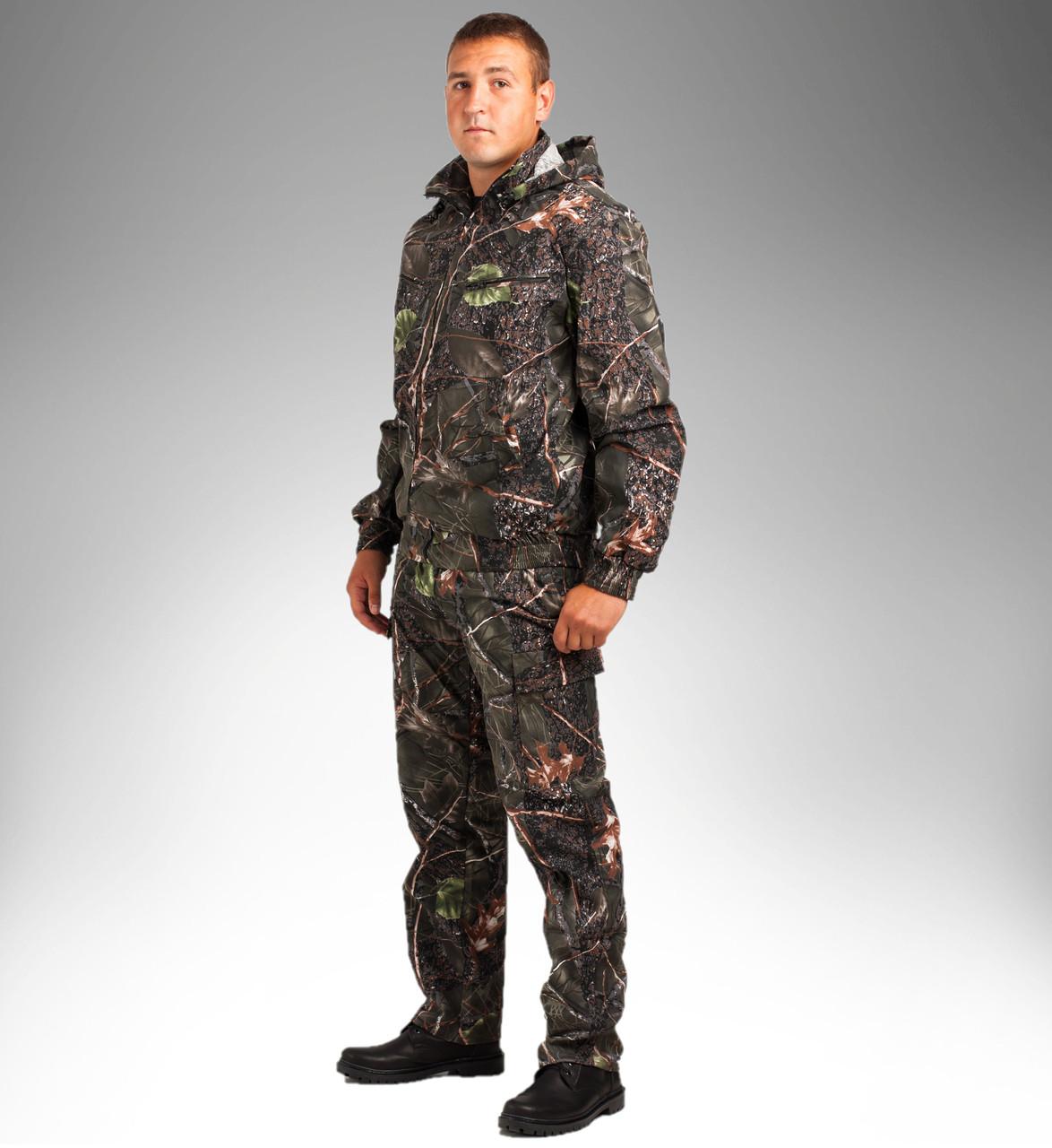 Летний камуфляжный костюм для охоты и рыбалки ''Лес''