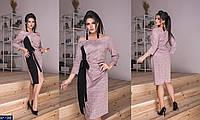 Стильное платье   (размеры 48-58)  0145-50, фото 1
