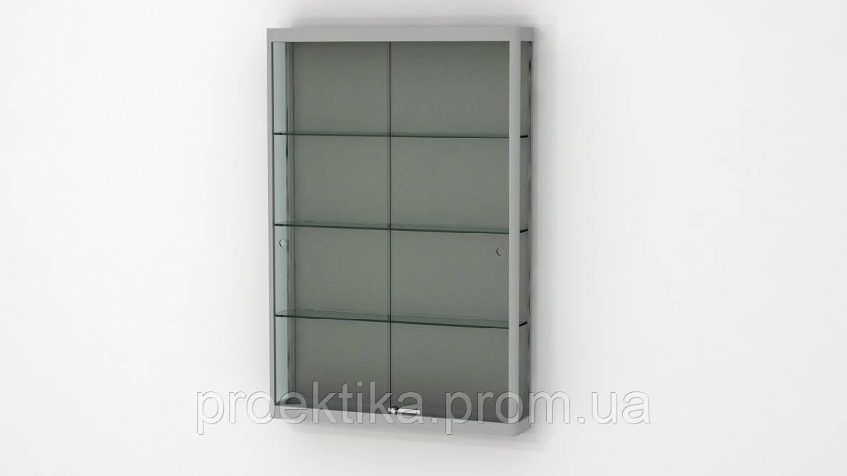 Настенные навесные витрины