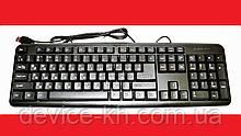 Якісна USB провідна комп'ютерна клавіатура CNV X1 K107