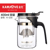 Чайник заварочный с кнопкой Kamjove K-200, 400 мл